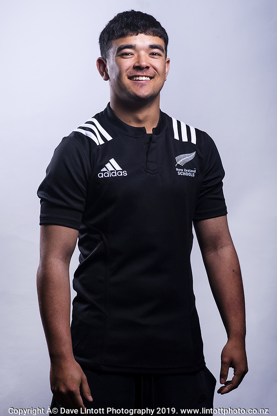 Max Hughes (Christchurch Boys' High School). 2019 New Zealand Schools rugby union headshots at the Sport & Rugby Institute in Palmerston North, New Zealand on Wednesday, 25 September 2019. Photo: Dave Lintott / lintottphoto.co.nz