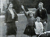18.07.2015; London, UK: QUEEN ELIZABETH&iacute;S NAZI SALUTE<br /> The Queen seen with her sister Princess Margaret and the Queen Mother giving a Nazi Salute in the grounds of Balomoral, Scotland.<br /> The images as printed in the Sun Newspaper show the 7-year-old Princess Elizabeth, as she was then, with Princess Margaret, 3, and the Queen Mother together with their uncle Edward, Prince of Wales in a 1933 home movie.<br /> Prince Edward was a sympathiser of Hitler&iacute;s Nazi Germany and later became King Edward Vlll.<br /> Mandatory Photo Credit: NEWSPIX INTERNATIONAL<br /> <br /> **ALL FEES PAYABLE TO: &quot;NEWSPIX INTERNATIONAL&quot;**<br /> <br /> PHOTO CREDIT MANDATORY!!: NEWSPIX INTERNATIONAL(Failure to credit will incur a surcharge of 100% of reproduction fees)<br /> <br /> IMMEDIATE CONFIRMATION OF USAGE REQUIRED:<br /> Newspix International, 31 Chinnery Hill, Bishop's Stortford, ENGLAND CM23 3PS<br /> Tel:+441279 324672  ; Fax: +441279656877<br /> Mobile:  0777568 1153<br /> e-mail: info@newspixinternational.co.uk