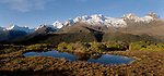 Early morning at Key Summit. Mount Aspiring National Park. New Zealand.