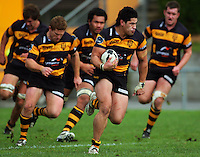 080711 Air NZ Cup Rugby - Wellington v Taranaki Preseason
