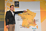 Arnaud Demare (FRA) at the Tour de France 2018 route presentation held at Palais de Congress, Paris, France. 17th October 2017.<br /> Picture: ASO/Bruno Bade | Cyclefile<br /> <br /> <br /> All photos usage must carry mandatory copyright credit (&copy; Cyclefile | ASO/Bruno Bade)
