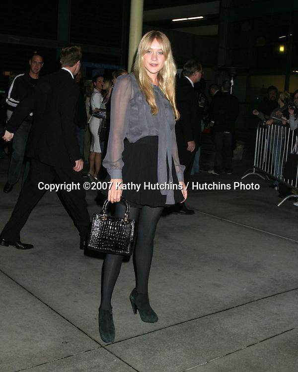 "Chloë Sevigny.""Starter for 10"" LA Premiere.ArcLight Theater.Los Angeles, CA.February 4, 2007.©2007 Kathy Hutchins / Hutchins Photo."