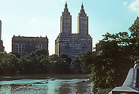 New York City: Central Park--West Side. The San Remo Apartments. Photo '78.