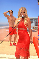 LOS ANGELES - July 13:  Zac Efron Wax Figure, Carmen Electra at the Madame Tussauds Hollywood Unveils A Wax Figure Of Zac Efron at the Madame Tussauds Hollywood on July 13, 2017 in Los Angeles, CA