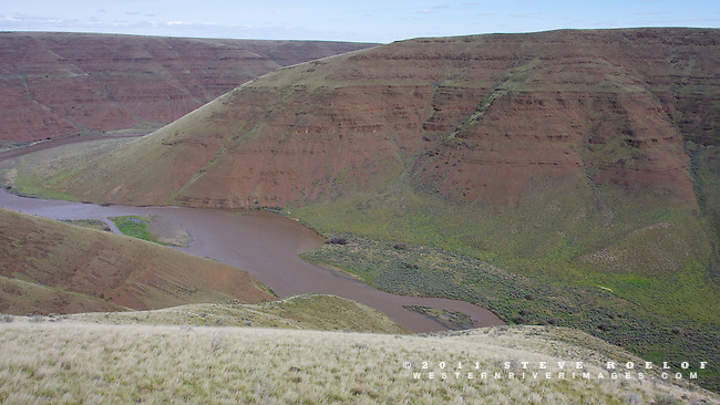 The rugged John Day River Canyon.