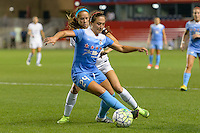 Chicago, IL - Wednesday Sept. 07, 2016: Danielle Colaprico, Shea Groom during a regular season National Women's Soccer League (NWSL) match between the Chicago Red Stars and FC Kansas City at Toyota Park.