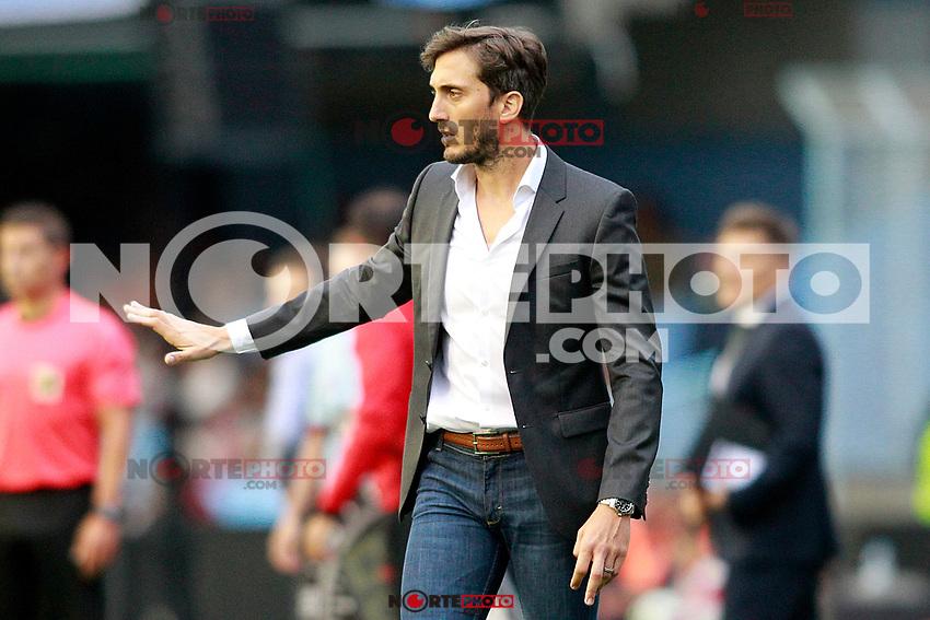 Deportivo Alaves' coach Luis Zulbeldia during La Liga match. September 10,2017. (ALTERPHOTOS/Acero) /NortePhoto.com