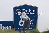 Lucas Bjerregaard (DEN) on the 6th tee during Round 2 of the Irish Open at LaHinch Golf Club, LaHinch, Co. Clare on Friday 5th July 2019.<br /> Picture:  Thos Caffrey / Golffile<br /> <br /> All photos usage must carry mandatory copyright credit (© Golffile | Thos Caffrey)