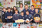 Principal Aine Daly with Pupils from Knockaderry National School pictured taking part in the Farranfore Bakers Project for the Junior Entrepreneur Programme on Friday