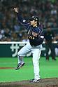 Hirokazu Sawamura (JPN), .FEBRUARY 28, 2013 - WBC : .2013 World Baseball Classic .Exhibithion Game .between Tokyo Yomiuri Giants 1-6 Japan .at Yafuoku Dome, Fukuoka, Japan. .(Photo by YUTAKA/AFLO SPORT)