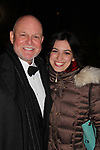 "Guiding Light's Ron Raines ""Alan Spaulding"" poses with his daughter Charlotte as he along with fellow singers highlighted the evening with song honoring Stephen Sondheim - A Gala Evening to support New York Festival of Song on April 19, 2017 at Carnegie Hall's Weill Recital Hall. (Photo by Sue Coflin/Max Photos)"