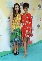 11 June 2017 - Los Angeles, California - Rowan Blanchard, Storm Reid. Children Mending Hearts' 9th Annual Empathy Rocks held at Private Residence in Los Angeles. Photo Credit: Birdie Thompson/AdMedia