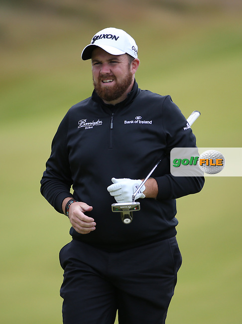 Shane Lowry (IRL) during Round One of the 2016 Aberdeen Asset Management Scottish Open, played at Castle Stuart Golf Club, Inverness, Scotland. 07/07/2016. Picture: David Lloyd | Golffile.<br /> <br /> All photos usage must carry mandatory copyright credit (&copy; Golffile | David Lloyd)