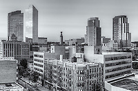 The skyline of White Plains, New York