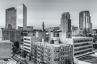 The skyline of White Plains, New York