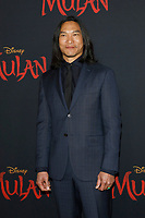 """LOS ANGELES - MAR 9:  Jason Scott Lee at the """"Mulan"""" Premiere at the Dolby Theater on March 9, 2020 in Los Angeles, CA"""