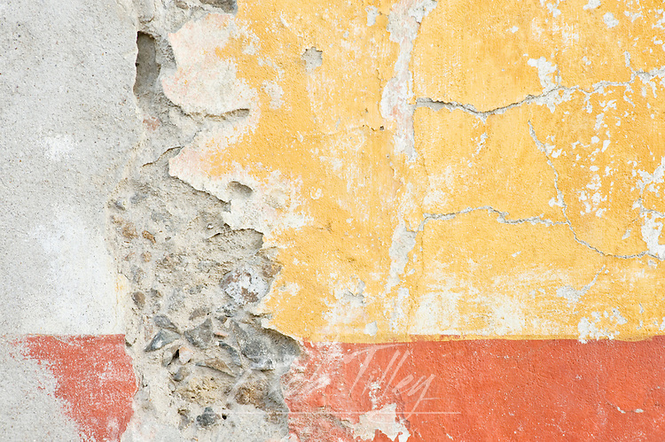 Mexico, Guanajuato, San Miguel de Allende, Painted Wall