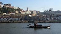 Boat at Douro River in Porto