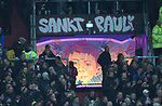 08.11.2019,  GER; 2. FBL, FC St. Pauli vs VfL Bochum ,DFL REGULATIONS PROHIBIT ANY USE OF PHOTOGRAPHS AS IMAGE SEQUENCES AND/OR QUASI-VIDEO, im Bild Feature durch den Ausgang sieht man die Beleuchtung eines Fahrgeschaeftes vom Hamburger Dom Foto © nordphoto / Witke