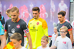 07.10.2018, Red Bull Arena, Leipzig, GER, 1. FBL 2018/2019, RB Leipzig vs. 1. FC N&uuml;rnberg/Nuernberg,<br /> <br /> DFL REGULATIONS PROHIBIT ANY USE OF PHOTOGRAPHS AS IMAGE SEQUENCES AND/OR QUASI-VIDEO.<br /> <br /> im Bild<br /> <br /> Torhueter Fabian Bredlow (#1, 1. FC Nuernberg), <br /> <br /> <br /> <br /> <br /> Foto &copy; nordphoto / Dostmann