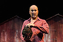 """Edinburgh, UK. 11.08.2016. Eat A Crocodile presents """"Shake"""" an adaption, in French, of William Shakespeare's """"Twelfth Night"""", at the Royal Lyceum, as part of Edinburgh International Festival 2016. Picture shows: Antonio Gil Martinez (Orsino). Photograph © Jane Hobson."""
