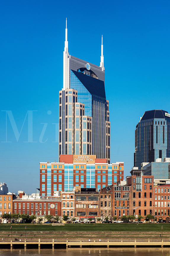 ATT&T building in downtown Nashville, Tennessee, USA.