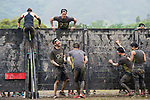 Participants compete during the Spartan Race Hong Kong on 22 April 2017 in , Hong Kong, China. Photo by Marcio Rodrigo Machado / Power Sport Images