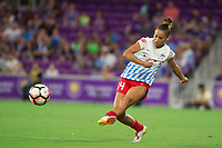 Orlando, FL - Saturday August 05, 2017: Sarah Gorden during a regular season National Women's Soccer League (NWSL) match between the Orlando Pride and the Chicago Red Stars at Orlando City Stadium.