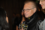 Larry King at the Rock the Cure event benefiting the Nevada Cancer Institute  inside Aria Resort and Casino, Las Vegas, NV, November 11, 2010 © Al Powers / Vegas Magazine