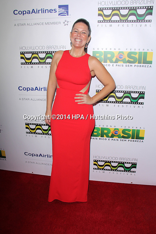 LOS ANGELES - NOV 21:  Talize Sayegh at the 6th Annual Hollywood Brazilian Film Festival Opening Night at the Montalban Theater on November 21, 2014 in Los Angeles, CA