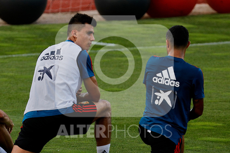 Rodri during the Trainee Session at Ciudad del Futbol in Las Rozas, Spain. September 02, 2019. (ALTERPHOTOS/A. Perez Meca)