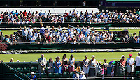 AMBIENCE<br /> <br /> TENNIS - THE CHAMPIONSHIPS - WIMBLEDON 2015 -  LONDON - ENGLAND - UNITED KINGDOM - ATP, WTA, ITF <br /> <br /> &copy; AMN IMAGES