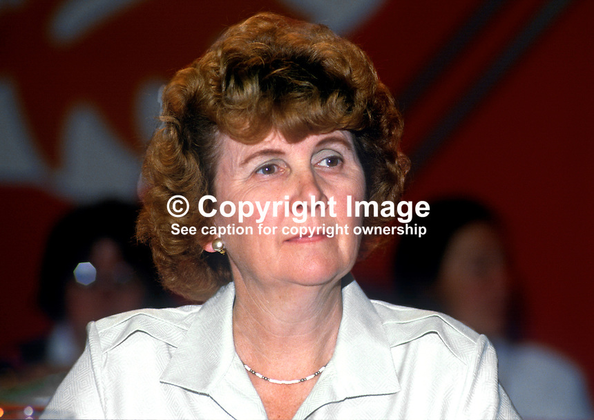 Elizabeth Shields, MP, Liberal Party, UK, 19860935ES1<br />