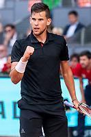 Austrian Dominic Thiem during Mutua Madrid Open 2018 at Caja Magica in Madrid, Spain. May 11, 2018. (ALTERPHOTOS/Borja B.Hojas) /NORTEPHOTOMEXICO