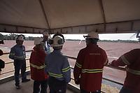 Comiss&atilde;o &eacute; recebida pela Norsk Hydro na refinaria de alumina.<br />Barcarena, Par&aacute;, Brasil.<br />Foto Maycon Nunes
