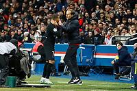 sortie de Kylian Mbappe ( PSG ) altercation avec Thomas Tuchel ( Entraineur Coach PSG )<br /> 01/02/2020<br /> Paris Saint Germain PSG - Montpellier  <br /> Calcio Ligue 1 2019/2020 <br /> Photo Gwendoline Le Goff Panoramic/insidefoto <br /> ITALY ONLY