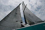 Race of Farr 40 and Sydney 38 during the Rolex Trophy One Design Series 2007..The Rolex Trophy, formerly the British Trophy, is sailed out of Sydney in December each year. It is not only a significant lead-up event to the Rolex Sydney Hobart Yacht Race, but a prestigious regatta in its own right..The Cruising Yacht Club of Australia originally introduced a regatta to provide a competitive series in the even years between the biennial international teams racing series for the Southern Cross Cup. Unlike the Southern Cross Cup, the Rolex Trophy is a regatta for individual yachts and is a standalone series that does not include the Rolex Sydney Hobart Yacht Race..The Rolex Trophy is now held every year, with large fleets racing in IRC and PHS rating divisions, plus one-design divisions.