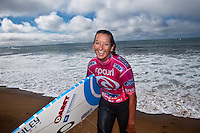 LAYNE BEACHLEY (AUS) .Bells Beach, Torquay Victoria, Australia (Wednesday, April 8 2009) -The 2009 Rip Curl Women's Pro Bells Beach started today with the running of Round One in one meter waves along the Rincon section of Bells beach. This years event at the iconic Bells Beach is event number 2 of 8 on the 2009 ASP Women's World Tour and it is the longest running ASP event. Defending Champion and current world champion STEPHANIE GILMORE (AUS) won her heat convincingly with SOFIA MULANOVICH (PER) and LAYNE BEACHLEY (AUS) also posting a strong win. Photo: joliphotos.com