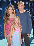 Rick Schroder and daughters at The Disney Premiere of Phineas and Ferb: Across the 2nd Dimension held at The El Capitan Theatre in Hollywood, California on August 03,2011                                                                               © 2011 DVS / Hollywood Press Agency