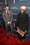 Hugh Dancey and Cynthia Erivo attend the Broadway Opening Night Performance of 'Les Liaisons Dangereuses'  at The Booth Theatre on October 30, 2016 in New York City.