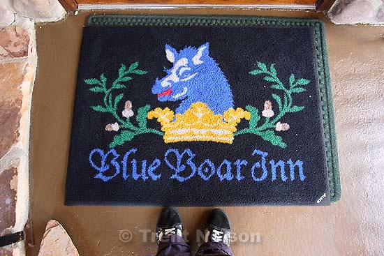 trent feet. Midway's Blue Boar Inn.<br />