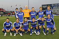 Kansas City Wizards starting eleven. Toronto FC defeated Kansas City Wizards 3-2 at Community America Ballpark, Kansas City, Kansas. March 21, 2009.