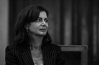 Milano 24-09-2013: Laura Boldrini Presidente della Camera                                   Milan 24-09-2013: portrait of Laura Boldrini
