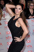 Katie Price<br /> arriving for the National Television Awards 2018 at the O2 Arena, Greenwich, London<br /> <br /> <br /> ©Ash Knotek  D3371  23/01/2018