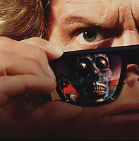 They Live (1988) <br /> Promotional art with Roddy Piper<br /> *Filmstill - Editorial Use Only*<br /> CAP/KFS<br /> Image supplied by Capital Pictures