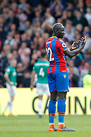 Mamadou Sakho of Crystal Palace seen during the EPL - Premier League match between Crystal Palace and West Bromwich Albion at Selhurst Park, London, England on 13 May 2018. Photo by Carlton Myrie / PRiME Media Images.