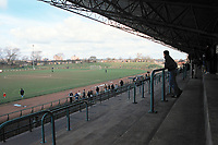 General view of Billingham Synthonia FC Football Ground, The Stadium, Central Avenue, Billingham, Cleveland, pictured on 2nd April 1994