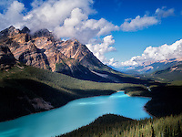 Peyto Lake. Banff National Park. Alberta. Canada.