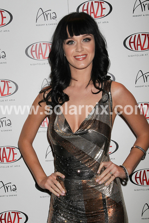 **ALL ROUND PICTURES FROM SOLARPIX.COM**.**SYNDICATION RIGHTS FOR UK, AUSTRALIA, DENMARK, PORTUGAL, S. AFRICA, SPAIN & DUBAI (U.A.E) ONLY**.Katy Perry Hosts Waking Up in Vegas Party at Haze Nightclub in Las Vegas on January 23, 2010 - Haze Nightclub at Aria Hotel and Casino - Las Vegas, NV, USA.This pic:  Katy Perry.JOB REF:     PHZ / PRN    DATE:  25.01.10.**MUST CREDIT SOLARPIX.COM OR DOUBLE FEE WILL BE CHARGED**.**MUST NOTIFY SOLARPIX OF ONLINE USAGE**.**CALL US ON: +34 952 811 768 or LOW RATE FROM UK 0844 617 7637**