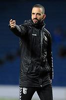 Sporting Braga managerRuben Amorim during Rangers vs SC Braga, UEFA Europa League Football at Ibrox Stadium on 20th February 2020